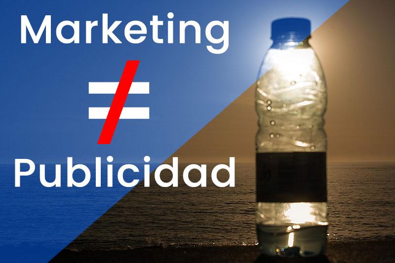 marketing no es publicidad