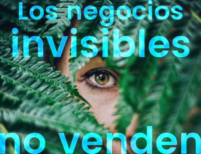 negocios invisible no venden